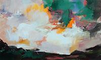 Ute-Laum-Diverse-Landschaften-Abstraktes-Moderne-Expressionismus