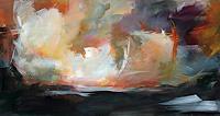 Ute-Laum-Landschaft-See-Meer-Natur-Luft-Moderne-Expressionismus