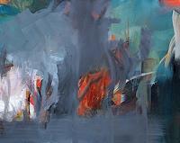 Ute-Laum-Pflanzen-Baeume-Diverse-Landschaften-Moderne-Expressionismus