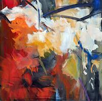 Ute-Laum-Pflanzen-Baeume-Landschaft-Herbst-Moderne-Expressionismus