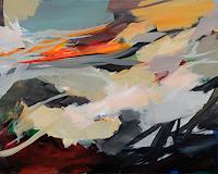 Ute-Laum-Abstraktes-Landschaft-Herbst-Moderne-Expressionismus