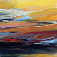 Ute-Laum-Diverse-Landschaften-Abstraktes-Moderne-Abstrakte-Kunst