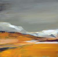 Ute-Laum-Landschaft-Strand-Landschaft-See-Meer-Moderne-Abstrakte-Kunst