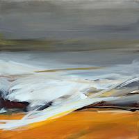 Ute-Laum-Landschaft-See-Meer-Abstraktes-Moderne-Abstrakte-Kunst