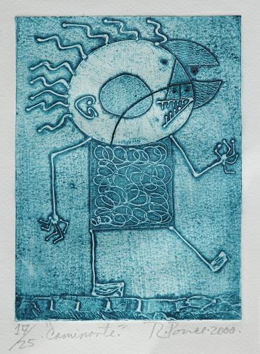 Ricardo Ponce, Caminante, Menschen: Mann, Symbol, Art Brut, Expressionismus