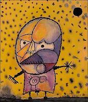 R. Ponce, Extraterrestre con pájaro