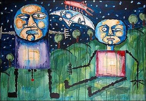 Ricardo Ponce, Sin tu acción nocturna, Poesie, Diverse Romantik, Expressionismus