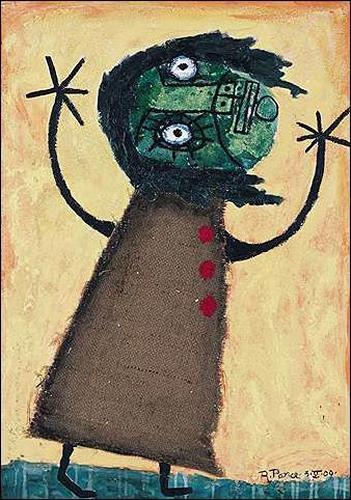 Ricardo Ponce, O/T, Gefühle: Angst, Menschen: Kinder, Abstrakter Expressionismus