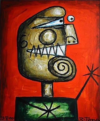 Ricardo Ponce, Serie: Iluminados, Humor, Menschen: Porträt