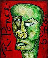 Ricardo-Ponce-Menschen-Portraet-Menschen-Mann-Moderne-Kubismus
