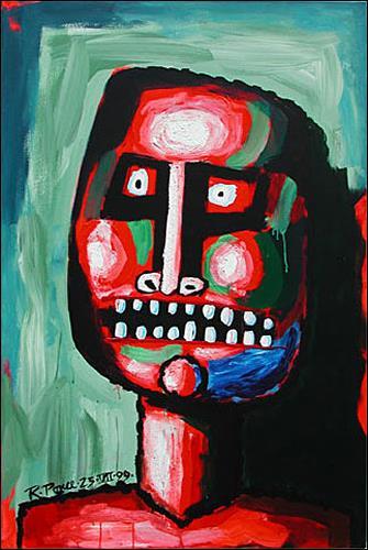 Ricardo Ponce, Retrato Rojo, Menschen: Porträt
