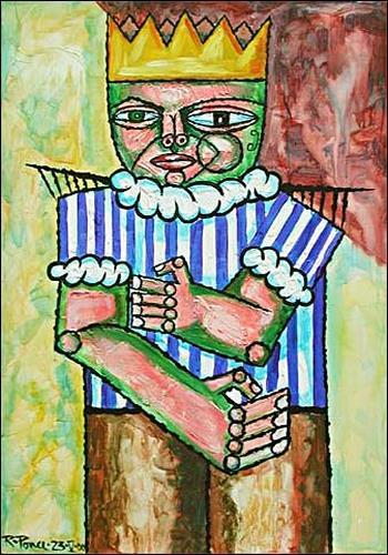 Ricardo Ponce, El Rey, Menschen: Mann, Symbol, Expressionismus