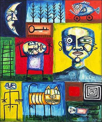 Ricardo Ponce, Inventario, Situationen, Abstrakter Expressionismus