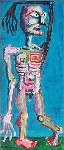 Ricardo Ponce, O/T, Menschen: Kinder, Gefühle: Depression, Abstrakter Expressionismus