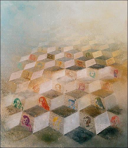 Fritz Huser, Verwandte III, Diverses, Surrealismus, Dadaismus, Expressionismus