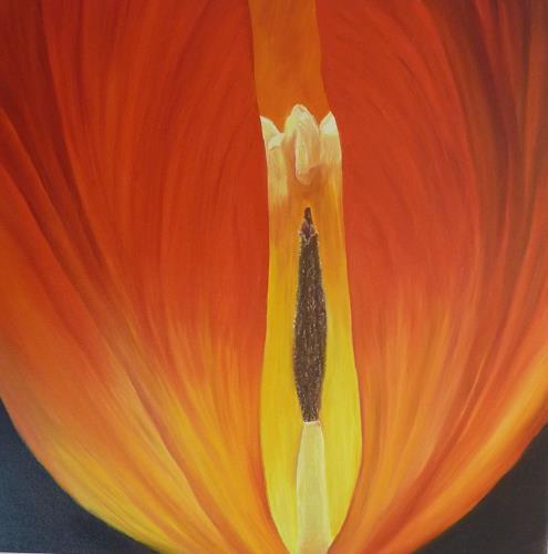 Theresia Züllig, Naturerotik, Pflanzen: Blumen, Diverse Erotik, Abstrakte Kunst