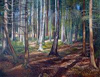 Theresia-Zuellig-Natur-Wald-Landschaft-Ebene-Moderne-Naturalismus
