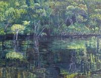 Theresia-Zuellig-Natur-Wasser-Diverse-Landschaften-Moderne-Naturalismus