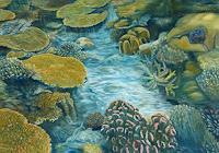 Theresia-Zuellig-Natur-Wasser-Diverse-Pflanzen-Moderne-Naturalismus