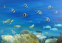 Theresia-Zuellig-Tiere-Wasser-Natur-Wasser-Moderne-Naturalismus
