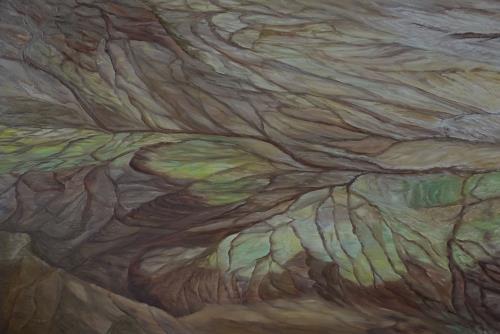 Theresia Züllig, Weltblutbahnen ( USA), Natur: Erde, Landschaft: Ebene, Naturalismus