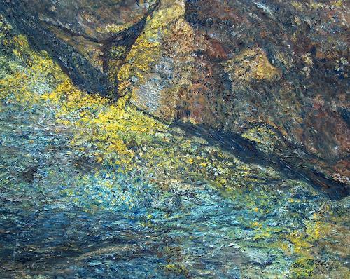 Theresia Züllig, Steinlandschaft Elba, Natur: Gestein, Landschaft: Berge, Naturalismus