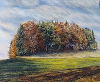 Theresia-Zuellig-Natur-Wald-Landschaft-Herbst-Moderne-Impressionismus