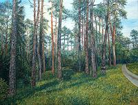 Theresia-Zuellig-Pflanzen-Baeume-Natur-Wald-Moderne-Impressionismus