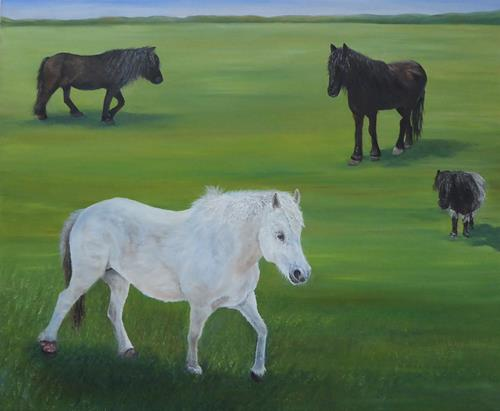 Theresia Züllig, Lisas Pony, Tiere: Land, Diverse Tiere, Naturalismus