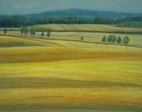 Theresia-Zuellig-Landschaft-Sommer-Natur-Erde-Moderne-Naturalismus