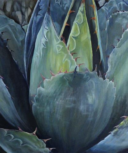 Theresia Züllig, Kaktuswunder, Diverse Pflanzen, Natur: Diverse, Naturalismus, Expressionismus