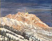 Theresia-Zuellig-Landschaft-Berge-Landschaft-Winter-Neuzeit-Realismus