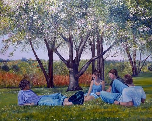 Theresia Züllig, Erwachen, Menschen: Gruppe, Naturalismus, Expressionismus