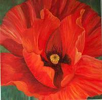 Theresia-Zuellig-Natur-Erde-Pflanzen-Blumen-Moderne-Naturalismus