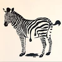 Claudia Elsner, Zebra - Frisch gestrichen