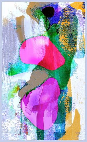 Zoltan Pal, arctic suit, Abstraktes, Abstrakte Kunst, Abstrakter Expressionismus