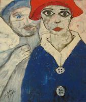 Jahn-dArte-(Klaus-Eduard-Jahn)-Menschen-Paare