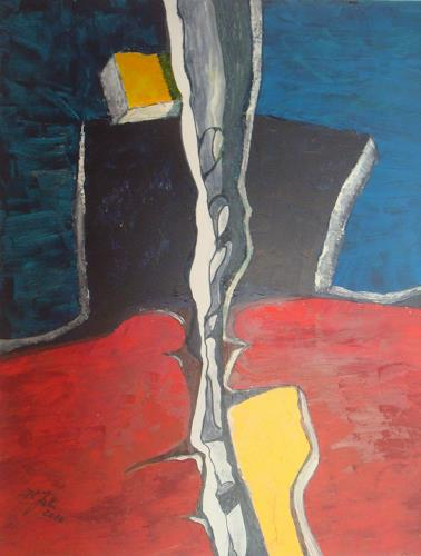 Jahn dArte (Klaus Eduard Jahn), Felsspalt, Abstraktes