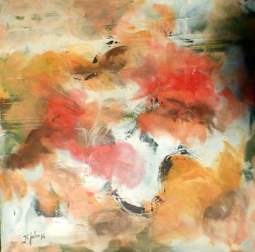 Jahn dArte (Klaus Eduard Jahn), Blütenduft, Poesie, Gegenwartskunst, Expressionismus
