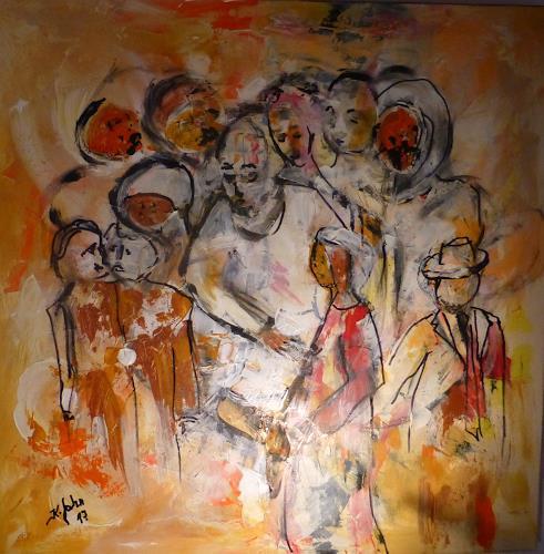 Jahn dArte (Klaus Eduard Jahn), Hoffnungsträger, Menschen: Gruppe, Expressionismus
