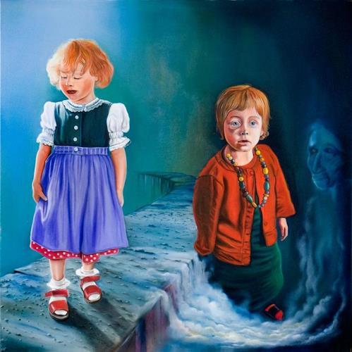 ingo platte, Prinzessin, Menschen: Kinder, Gesellschaft, Hyperrealismus, Abstrakter Expressionismus