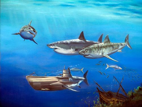 ingo platte, Evolution, Natur: Wasser, Tiere: Wasser, Hyperrealismus