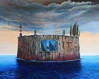 ingo-platte-Mythologie-Landschaft-See-Meer-Gegenwartskunst-Postsurrealismus