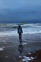 ingo-platte-Landschaft-See-Meer-Natur-Wasser-Moderne-Fotorealismus-Hyperrealismus