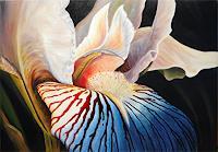 Stanislaw-Achrem-Pflanzen-Blumen-Moderne-Impressionismus