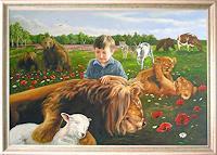 Stanislaw-Achrem-Tiere-Land-Menschen-Portraet