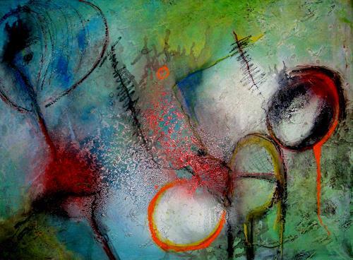 katarina niksic, Erdverbindung, Abstraktes, Abstrakte Kunst, Abstrakter Expressionismus