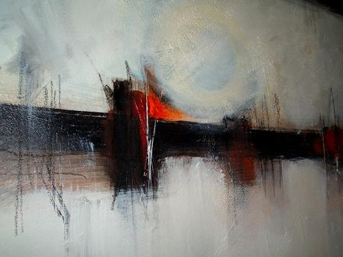 katarina niksic, LICHTPUNKT, Abstraktes, Gegenwartskunst, Expressionismus