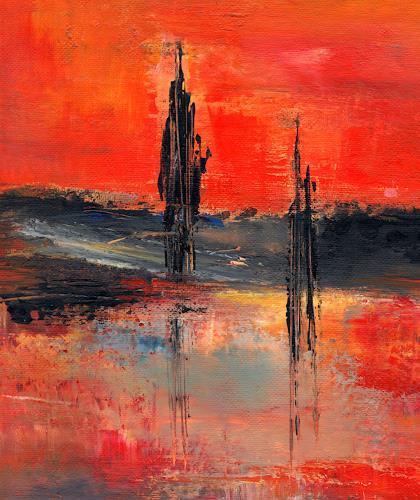 katarina niksic, o.T., Abstraktes, Abstrakte Kunst