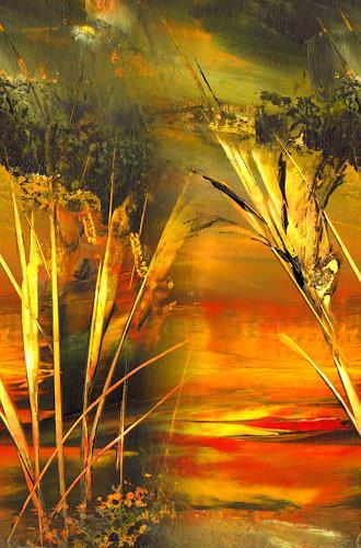 katarina niksic, Schilf, Natur: Erde, Abstrakter Expressionismus, Expressionismus